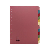 Concord Pastel A4 12-Part Subject Divider 71499/J14
