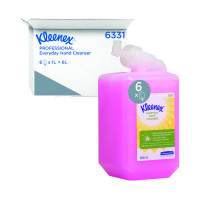Kleenex 1 Litre Everyday Use Hand Cleanser Perfumed (Pack of 6) 6331