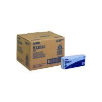 Wypall X50 Cleaning Cloths (Pack of 50) Blue 7441