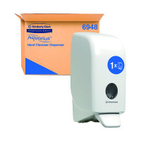 Aqua Foam Sanitiser Dispenser White 6983