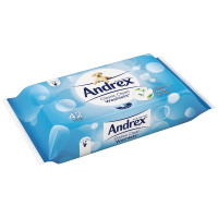 Andrex Classic Clean Washlets 42 Per Pack (Pack of 12) 4512278