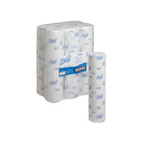 Wypall L20 Wipers Small Couch Roll White 140 Sheets (Pack of 6) 7415