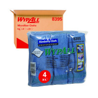 Wypall Blue Microfibre Cloth (Pack of 6) 8395
