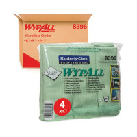 Wypall Green Microfibre Cloth (Pack of 6) 8396