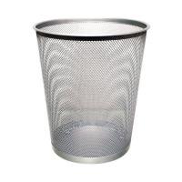 Q-Connect Waste Basket Mesh 18 Litre Silver KF00849