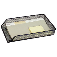 Q-Connect Mesh Letter Tray A4 Black KF00858