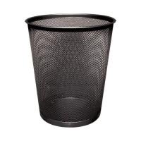 Q-Connect Waste Basket Mesh 18 Litre Black KF00871
