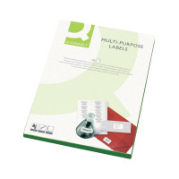 Q-Connect White Multipurpose Label 38.1 x 21.2mm 65 Per Sheet (Pack of 6500) KF01130