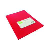 Q-Connect 20 Pocket Red Display Book KF01250