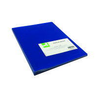 Q-Connect Polypropylene Display Book 40 Pocket Blue KF01259