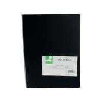 Q-Connect 40 Pocket Black Display Book KF01260