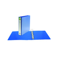 Q-Connect Presentation 40mm A4 Blue 4D-Ring Binder KF01331