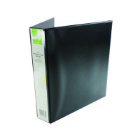 Q-Connect Presentation 40mm A4 Black 4D-Ring Binder KF01332