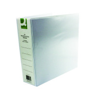 Q-Connect Presentation 65mm A4 White 4D-Ring Binder (Pack of 6) KF01334Q