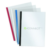 Q-Connect Black A4 5mm Slide Binder and Cover Set (Pack of 100) KF01940