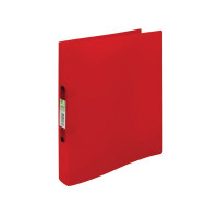 Q-Connect 2 Ring Frosted Assorted A4 Binder (Pack of 12) KF02488