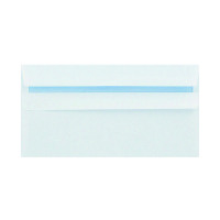 Q-Connect DL Envelopes Plain Wallet Peel and Seal 100gsm White (Pack of 500) 1P04