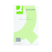 Q-Connect C5 Envelopes Pocket Peel and Seal 100gsm White (Pack of 500) KF03289