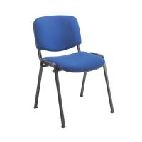 Jemini Ultra Multi Purpose Stacking Chair Blue/Black KF03343