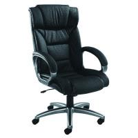 Arista Executive Leather faced Black Chair KF03437