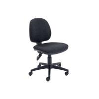 Arista Concept Medium Back Permanent Contact Operator Charcoal Chair KF03453
