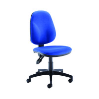 Arista Concept High Back Permanent Contact Operator Blue Chair KF03456