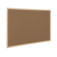 Q-Connect Cork Board Wooden Frame 600x900mm KF03567