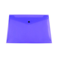 Q-Connect Polypropylene Document Folder A4 Purple (Pack of 12) KF03598