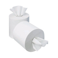 2Work Centrefeed Roll 1-Ply 195mm x 120m (Pack of 12) KF03784