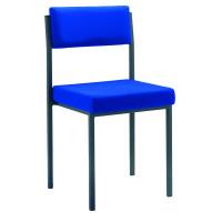 Jemini Blue Multi-Purpose Stacking Chair KF04002