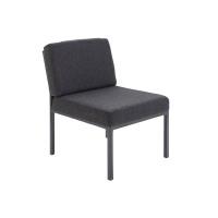 Jemini Charcoal Reception Chair KF04010