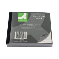 Q-Connect Feint Ruled Triplicate Book 102x127mm  KF04097