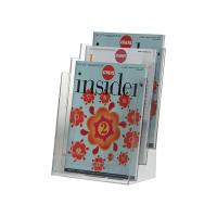 Q-Connect Three Pocket Literature Holder A4 KF04188