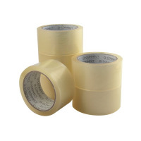 Q-Connect Low Noise Polypropylene Packaging Tape 50mmx66m Clear (Pack of 6) KF04382