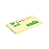 Q-Connect Quick Notes 76 x 127mm Yellow (Pack of 12) KF10503
