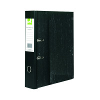 Q-Connect Lever Arch File Foolscap Black (Pack of 10) KF20002