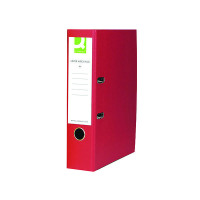 Q-Connect Red A4 Paperbacked Lever Arch File (Pack of 10) KF20041