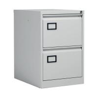 Jemini Grey 2 Drawer Filing Cabinet XK2B