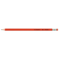 Q-Connect HB Rubber Tipped Pencil (Pack of 12) KF25011