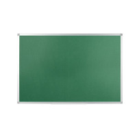 Q-Connect Aluminium Frame Felt Noticeboard 1200x900mm Green 54034204