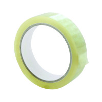 Q-Connect Polypropylene Tape 19mm x 66m Pack of 8 KF27016