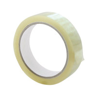 Q-Connect Polypropylene Tape 19mm x 66m (Pack of 8) KF27016
