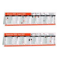 16 Month Calendar Desktop 280 x 80mm 2020 KF3004020