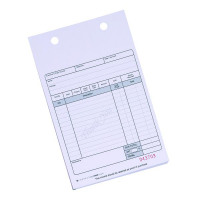 Q-Connect White Sales Receipt 2-Part (Pack of 100) KF32108
