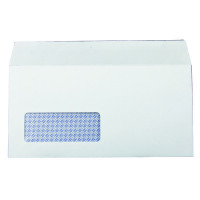 Q-Connect DL Envelopes Window Self Seal 100gsm White (Pack of 1000) 7138