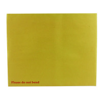 Q-Connect Board Back Envelope 394x318mm 115gsm Manilla Peel and Seal (Pack of 125) KF3522