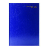 Academic Diary A5 Week to View 2019-20 Blue KF3A5ABU19
