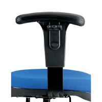 Jemini Black Adjustable Chair Arms (Pack of 2) KF50164