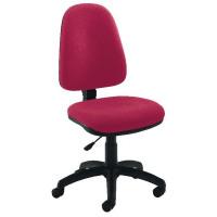 Jemini High Back Operator Chair Claret KF50173