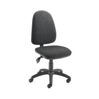 Jemini High Back Tilt Operator Chair Charcoal KF50175
